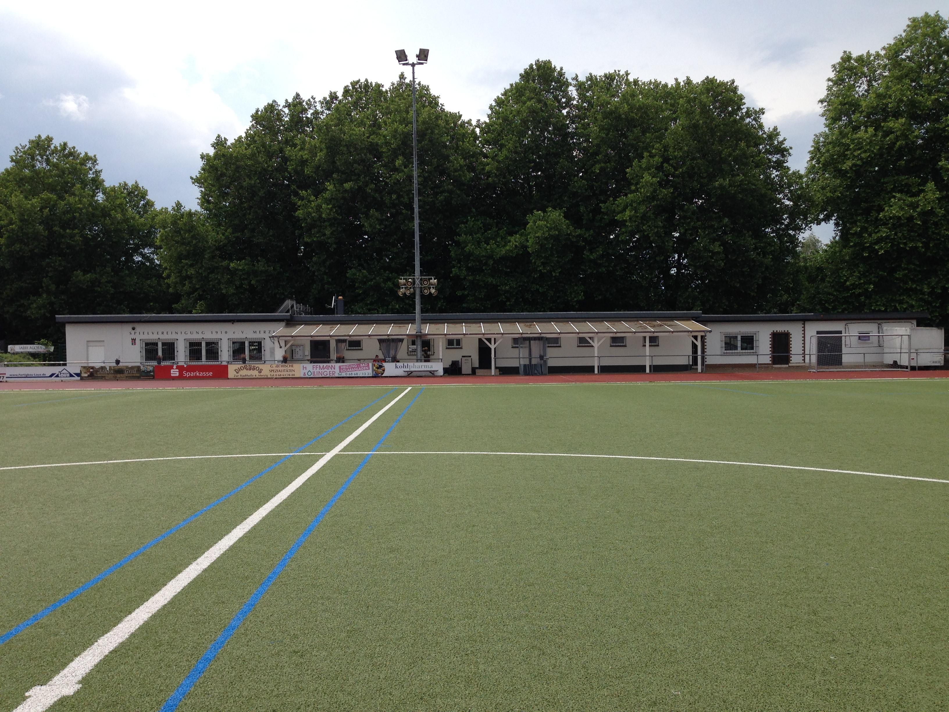 Das Blättelbornstadion in Merzig