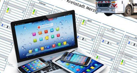 Kreisstadt Merzig: Abfallkalender
