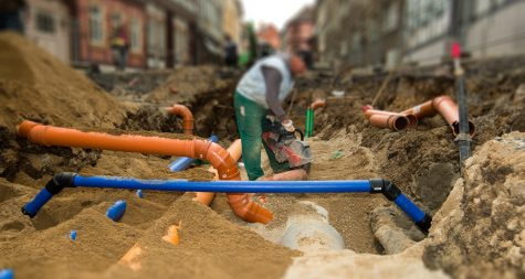 Kreisstadt Merzig: Anschluss an die öffentliche Kanalisation