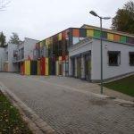 Zu sehen ist die Außenansicht der Grundschule in Besseringen.