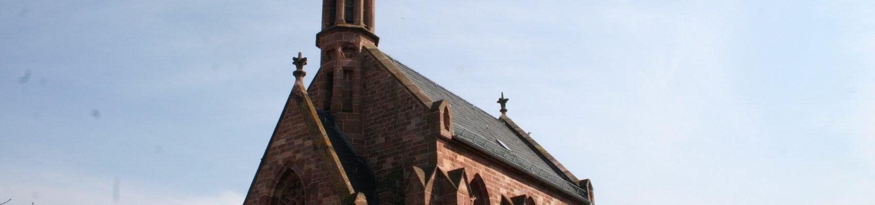 Sehenswürdigkeiten in Merzig: Evangelische Kirche Merzig – Église protestante de Merzig