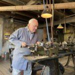 Maschinenarbeit in der Fellenbergmühle