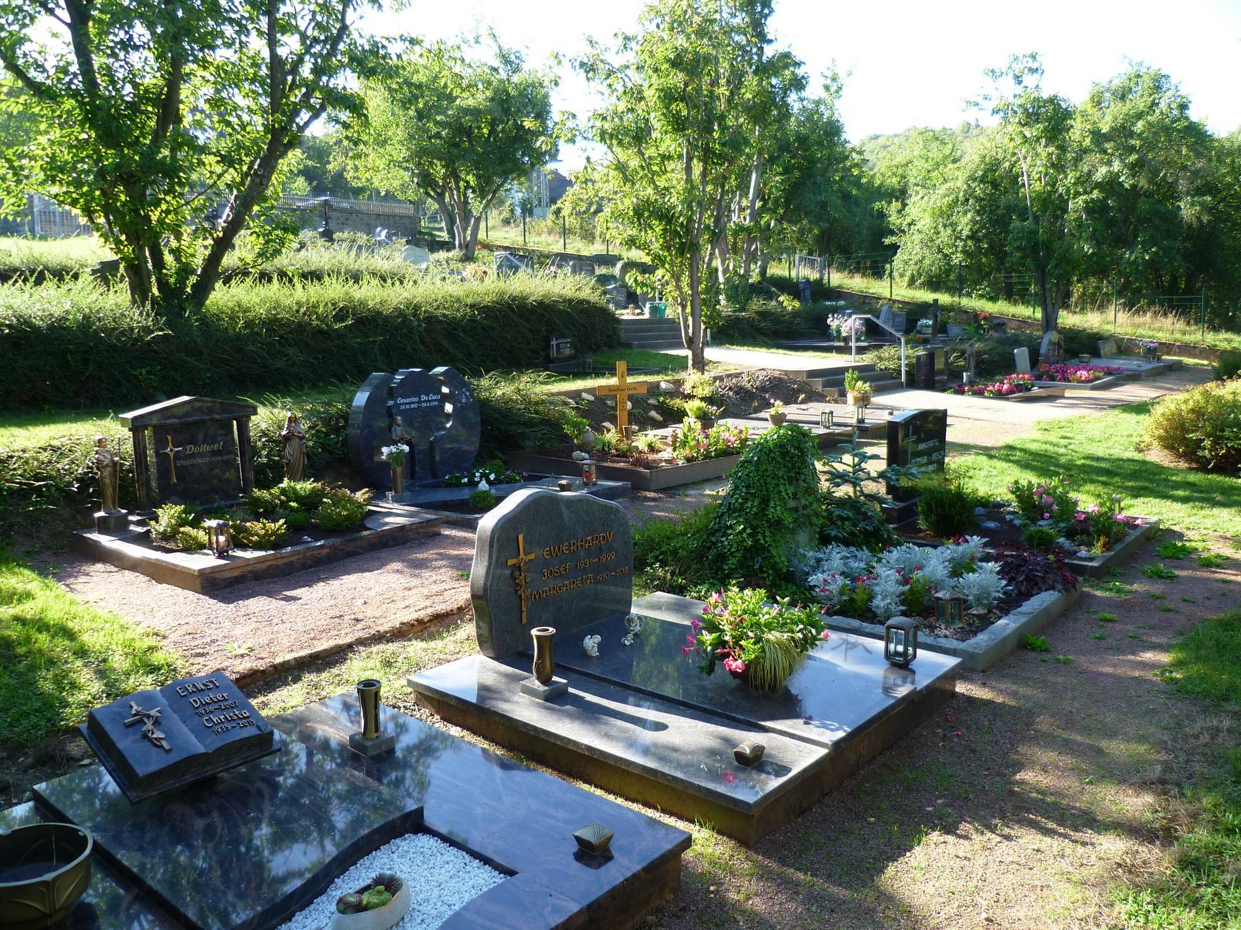 Gesamtansicht vom Friedhof Büdingen