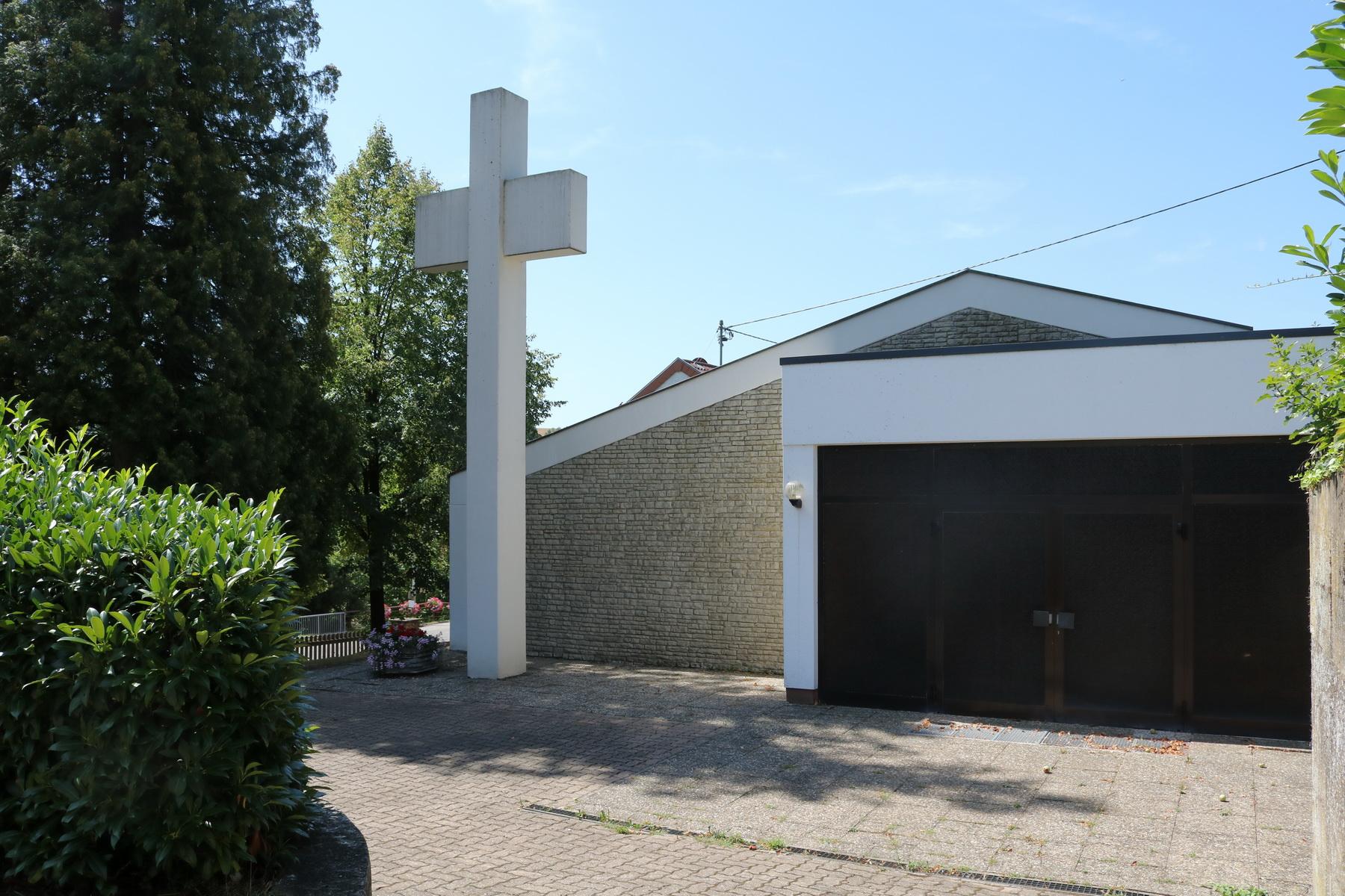 Leichenhalle in Mondorf