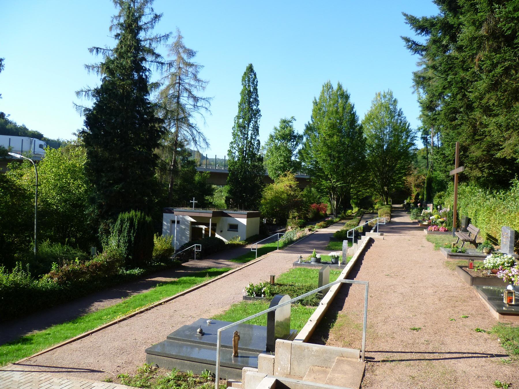 Gesamtansicht vom Friedhof Weiler