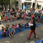 Kindersommer in der Fußgängerzone