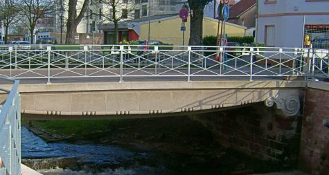 Sehenswürdigkeiten in Merzig: Seffersbachbrücke – Pont du Seffersbach