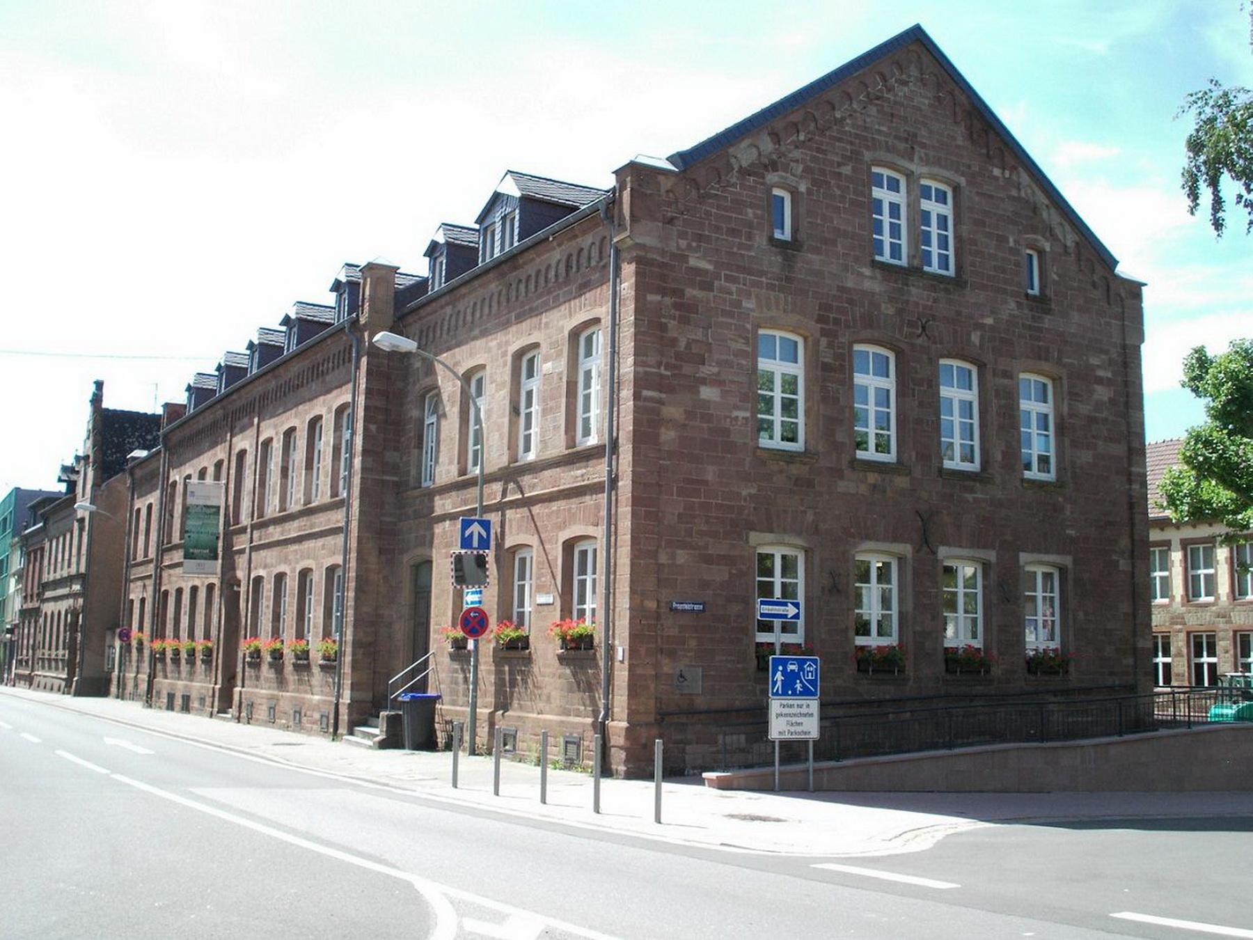 Stadtbibliothek Außenansicht