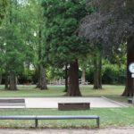Bouleplatz im Merziger Stadtpark