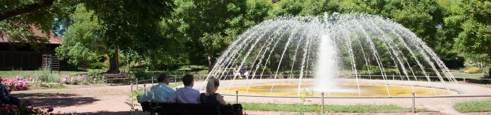 Sehenswürdigkeiten in Merzig: Merziger Stadtpark