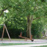 Spielplatz im Eingangsbereich des Stadtparks