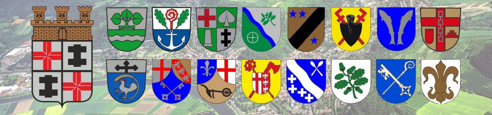Logos der Stadtteile