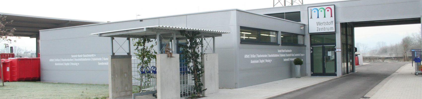 Wertstoffzentrum Außenansicht