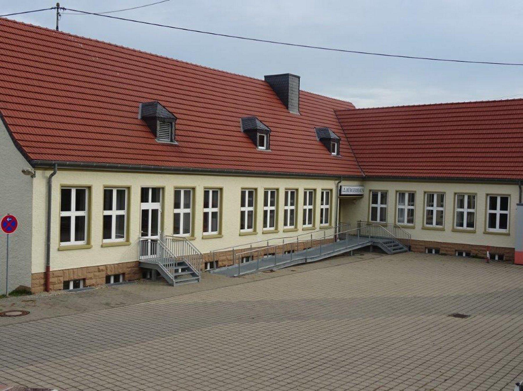 Bürgerhaus Menningen Außenansicht