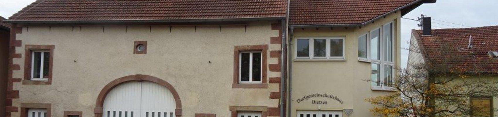 Dorfgemeinschaftshaus Bietzen