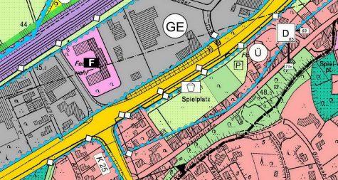 Kreisstadt Merzig: Flächennutzungsplan