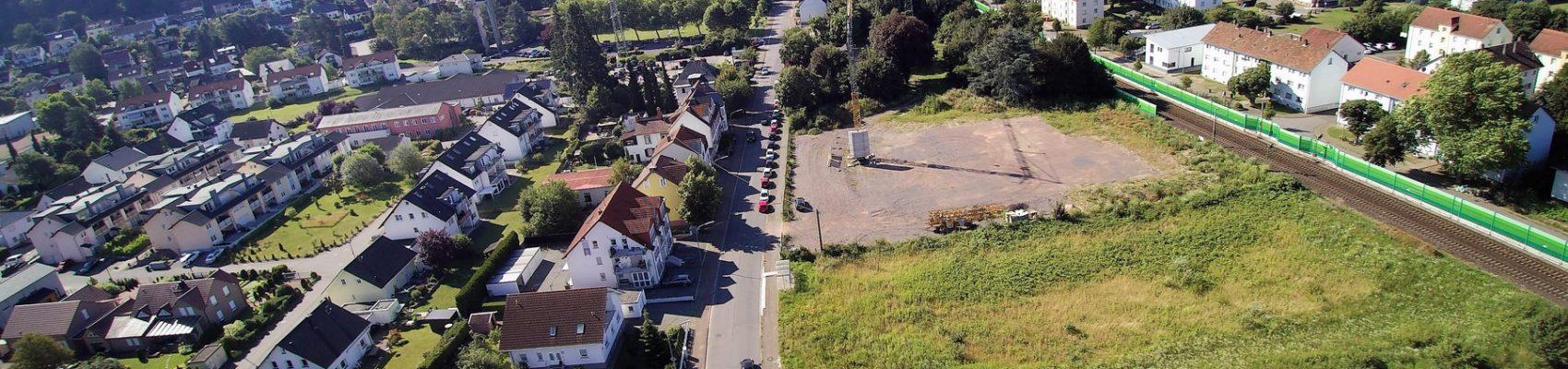 Bau vom Wohn- und Dienstleistungspark am Gesundheitscampus in Merzig