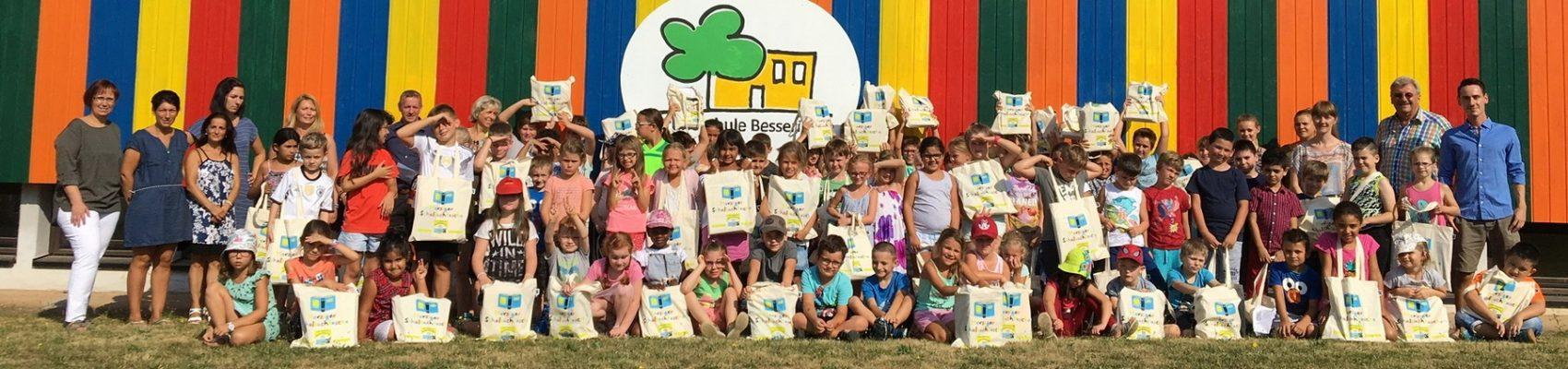 Grundschule Besseringen Schultaschen Fairtrade