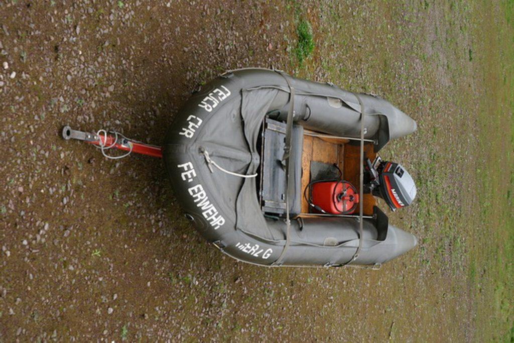 LBZ Schwemlingen Rettungsboot