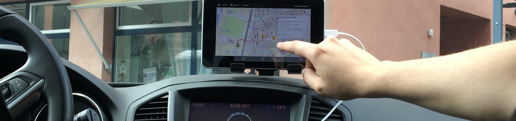 Testfeld HTW automatisiertes Fahren