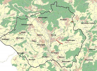 Geschützte Landschaftsbestandteile in Merzig