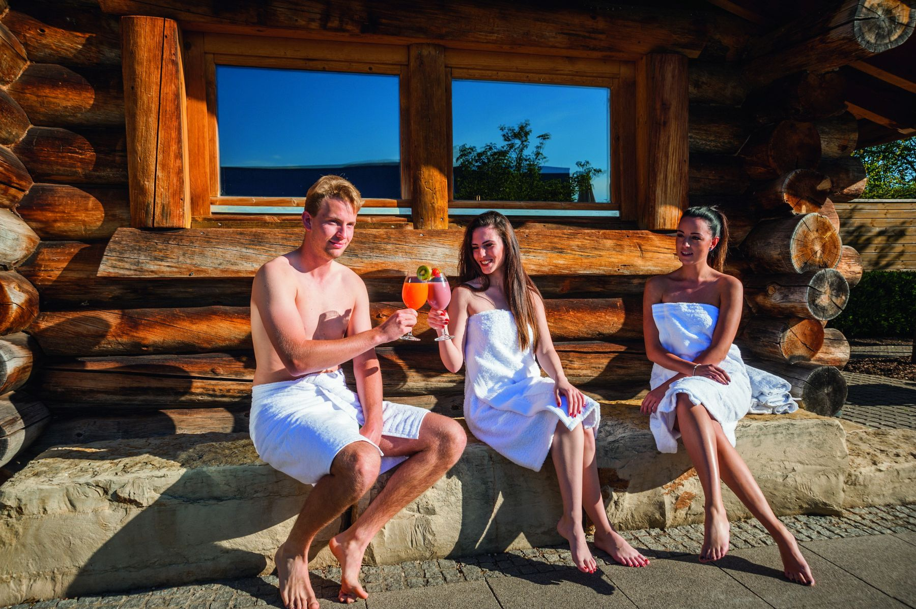 Sauna in DAS BAD