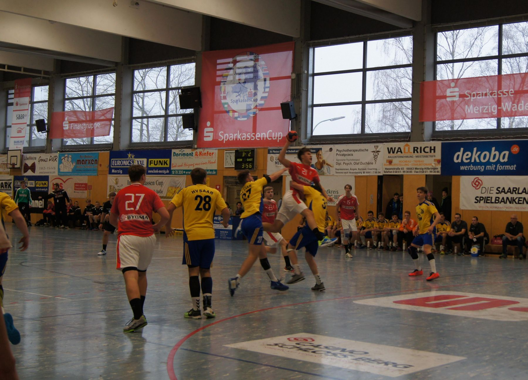 32. Sparkassen-Cup in Merzig