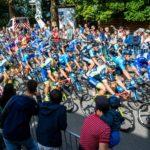 Deutschland Tour: Das Hauptfeld  in Merzig.
