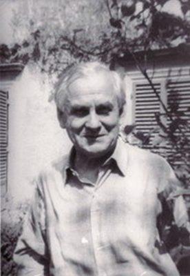 Das Bild zeigt Gustav Regler im Jahr 1959 in Florenz.