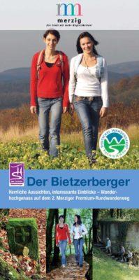 Cover Flyer Bietzerberger