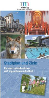 Cover Flyer Stadtplan
