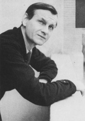 Das Bild zeigt ein schwarz-weiß Porträt von Gustav Regler.