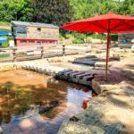 Planschbecken im Naturbad Heilborn